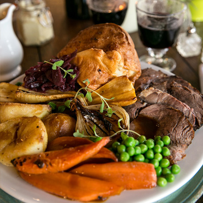 Quality Sunday food at The Devonshire Arms