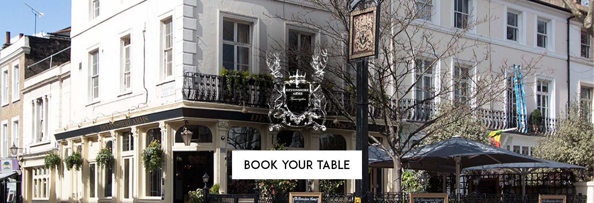 Book Your Table The Devonshire Arms